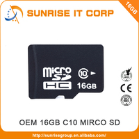Black cheap 16gb memory card SD for smartphone