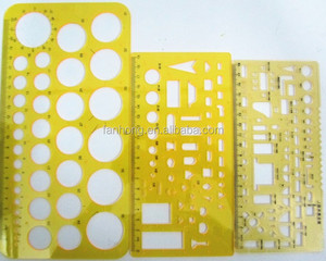 drawing rulers,stencil rulers,plastic drawing rulers