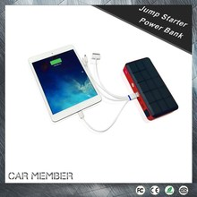 CAR MEMBER MULTIFUNCTION MINI Super fast portable mobile power bank charger For emergency tools