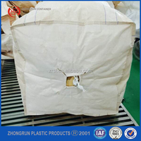 Wholesale high quality bulk bag PP big bag/FIBC bag/ super sack 1 ton/ top open, bottom discharg 100% new virgin resin Zhongrun