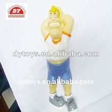 7 inch high pvc funny man action figure