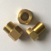 Large stock brass fitting threaded bushing from reliable supplier