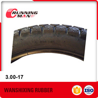 Strong Quality Factory Fair Price 3.00-17 Tires Motorcycle Exported In India