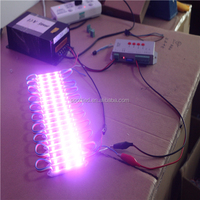 SMD5050 3Pcs Led 0.72W Injection Molding Waterproof 7512 5050 RGB LED Module for Advertising Letter