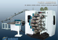 4-COLOR Curved offset printing machine with PLC control manufacturer