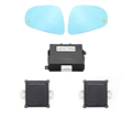 OEM Mirror Type 24GHz Microwave Blind Spot Detection System