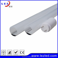 Aluminum Lamp Body Material and pc cover led tube light housing for t8 lamp