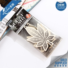 Factory price portable paper car air freshener packaging,air freshener for car