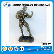 cheap price custom vintage metal body figure trophy cup for awards