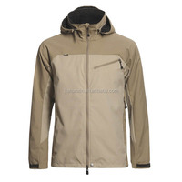 Modern fashionable men breathable and waterproof hooded nylon windbreaker