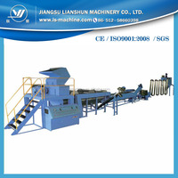 Plastic film washing recycling line PE PP bags crushing washing equipment