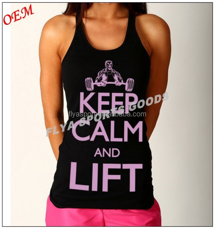 Womens New Y-Back T-Back Gym Singlets Stringer Training Tank Top