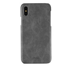 Free Shipping Crazy Horse Texture Leather Surface PC Protective Back Cover Case for iPhone X