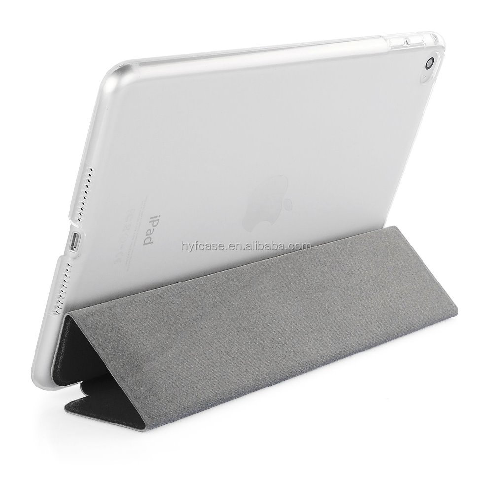 Smart cover for ipad mini leather case. for ipad mini case