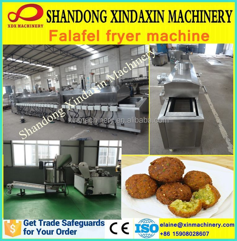 Zhucheng falafel fryer machine for sale