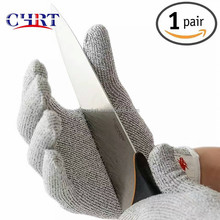 Proof Protect Stainless Steel Wire <strong>Safety</strong> Gloves Cut Resistant Glove Level 5 Safty Work Anti-cutting Gloves
