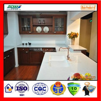 kitchen top Engineered Super white decorative Artificial quartz stone quartz crystal