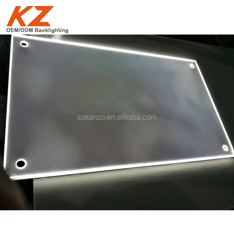 arcylic light guide plate led panel