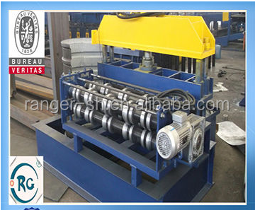 hot sale full automatic glazed roof panel/ step tile cold bending roll forming machine/ production line