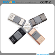 factory price usb3.0 iflash drive 128gb free usb flash drive sample for iphone 3 in1 otg iflash drive for iphone and android