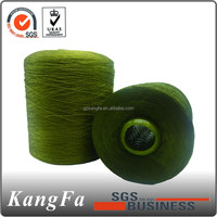 210D/2 raw white 100% spun polyester yarn