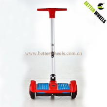 Best quality factory price electric self balancing scooter two wheels handle electric trike scooter