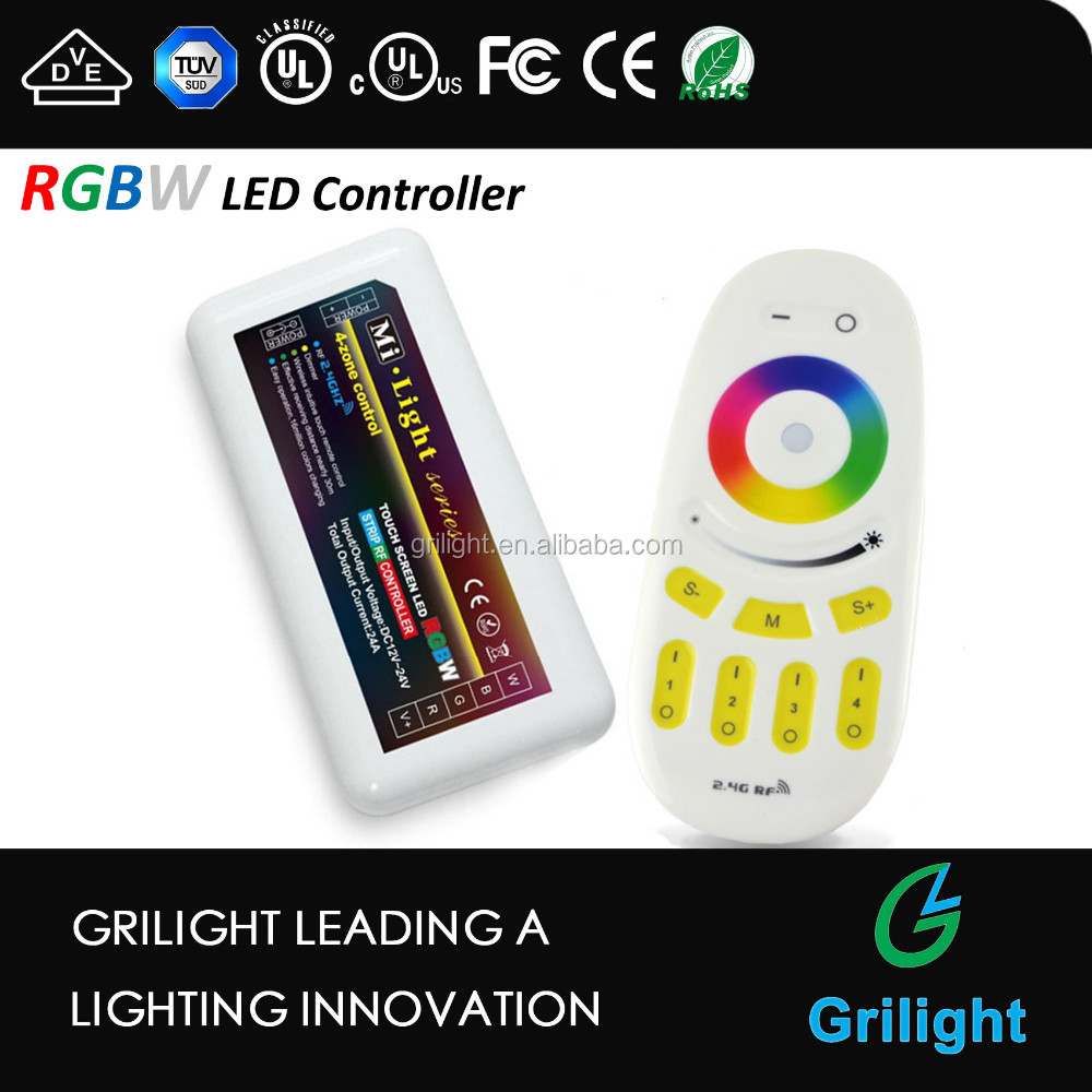 Milight DMX 2.4g wifi strip led rgb rgbw led controller