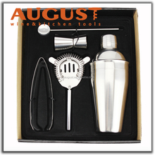 AUGUST bar set deluxe cocktail shaker set