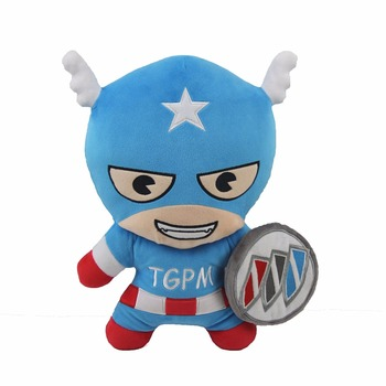 "Buick Authorize Customize Stuffed Human Doll Captain 4.65"" Soft Plush Toy For Branding"
