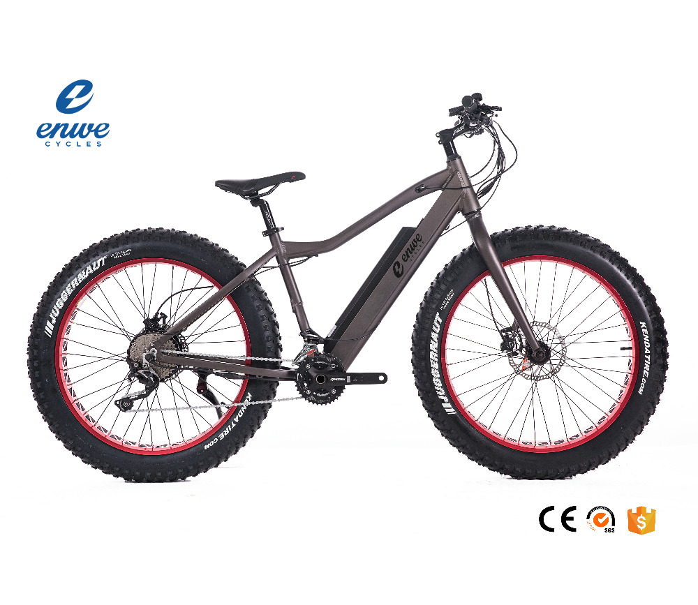 Best Seller 26 Inch 6061 Aluminum Alloy Bycicle Electric Fat Tire 500W 48V 10.4Ah Electric Dirt Bike for Adults