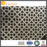best price Aluminum perforated sheet rock for ceiling company made in China