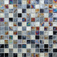 white mother of pearl free mosaic tile pattern