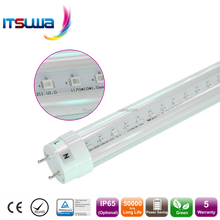Ratio of red and blue 9:1 or customer tailor 8t led tube plant grow light plant grow light fixture