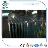 12.38mm Dark/Golden Bronze Reflective Laminated Glass with CE/ASTM C1172/CPSC 16 CFR 1201