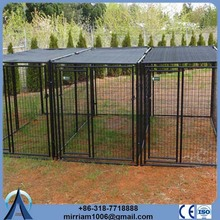 High quality metal cheap or galvanized comfortable 12x12x6 foot classic galvanized outdoor dog kennel