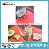 Plastic wooden bread board cutting board from manufacturer with high quality