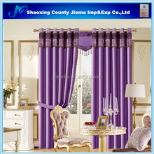CUR BLACKOUT086 ready made curtain jacquard blackout curtain eyelet curtain