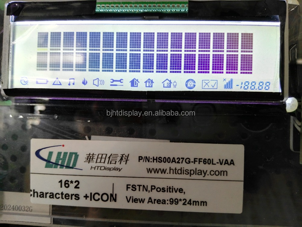 STN Character Monochrome Display Module for Label Printer Customized