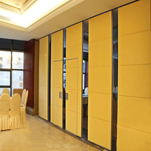 Acoustic Folding Fabric Commercial Conference Exhibition Aluminium Accordion Room Dividers Partition Wall Panels