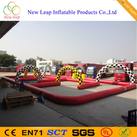 Inflatable Go Karts Race Track For