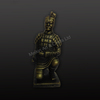 Chinese antique warriors statues