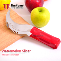 Amazon hot sell stainless steel watermelon slicer in stock