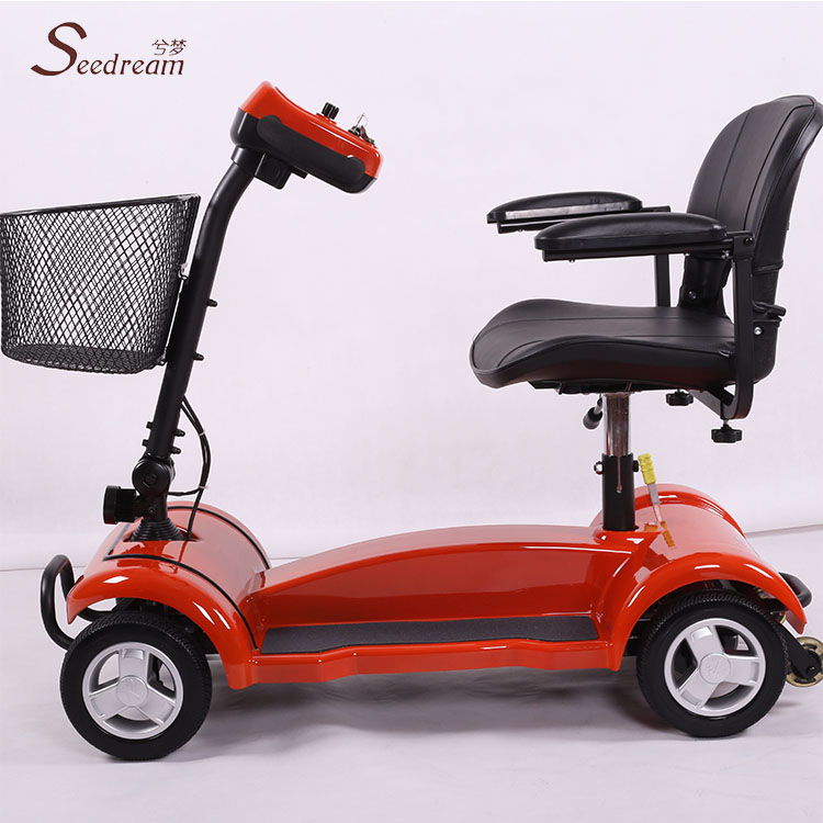 cheap china 3 wheel gas power enclosed cabin mobility scooter for adults