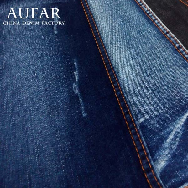 Thin Blue Cotton Denim jeans, shirt fabric
