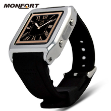 hot new product waterproof HD toutch screen stainless steel 3G Android smart watch mobile phone