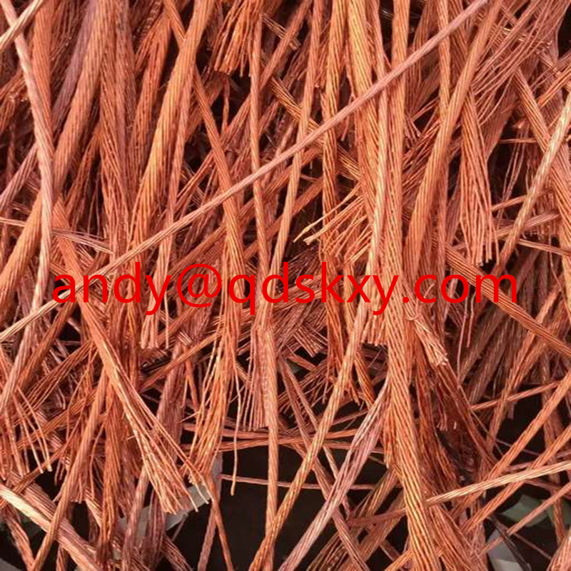 sale copper wire scrap 99.9% with best price