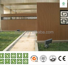 waterproof Compression of wpc wall panel /Chinese exterior wall panel for park house/wpc siding