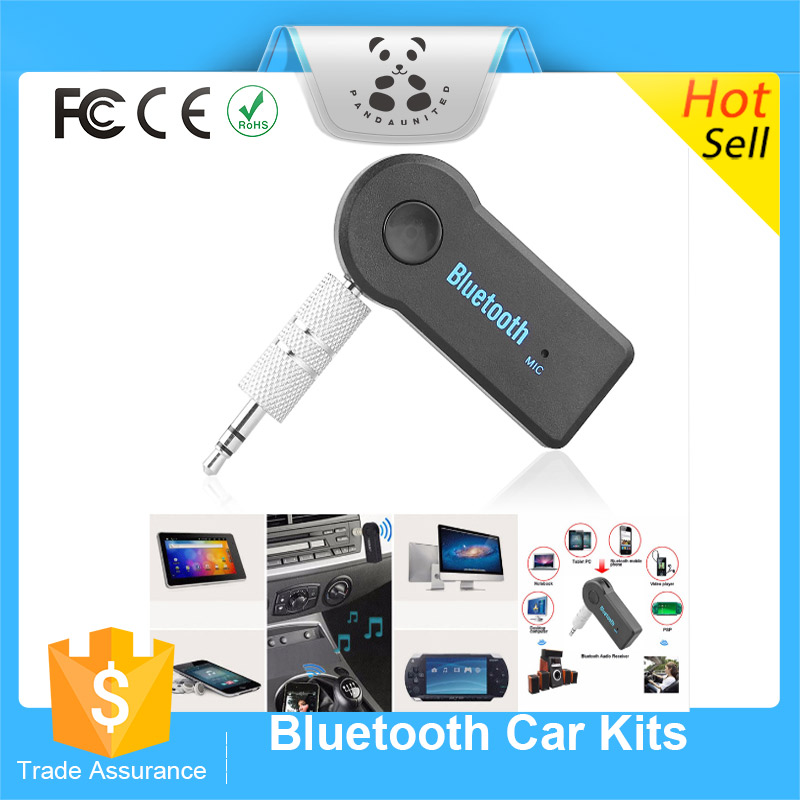 Bluetooth Audio Receiver Adapter AUX Audio Stereo Music Hands Free Bluetooth Car Kit Audio Adapter