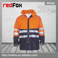 Two toned reflective rain suit