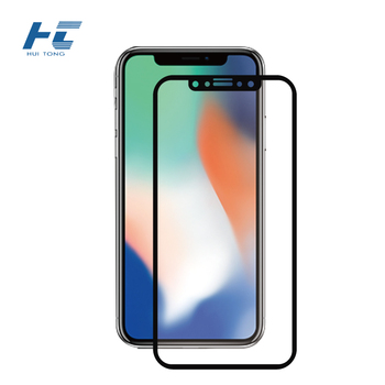 0.33mm tempered glass screen protector for iPhoneX